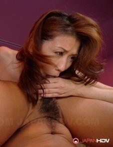 Hot Yoshioka Nanako sucks and strokes cocks