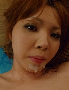 Hina Mitsuki has pussy full of oil and sperm