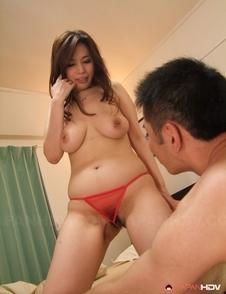 Asian Yuko Iijima is tied in ropes and fucked