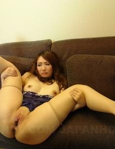 Horny Akari Niiyama rides cock when the toys