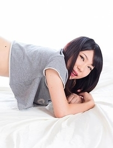 Aki Tojo teased and pleased by a very horny dude that loves hot-dogging her from behind
