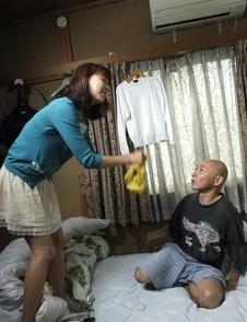 Asian Juri Kitahara housewife is fingered