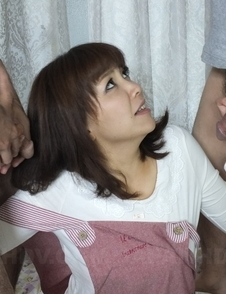 Whore Juri Kitahara sucks and strokes cock