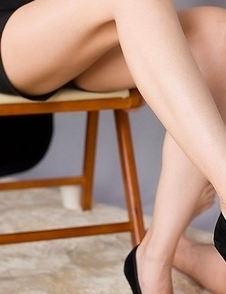 Ryo Yuuki using her pumps and feet to bring this foot fetishist tons of pleasure