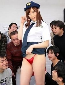 Akane Satozaki wants a hot gangbang