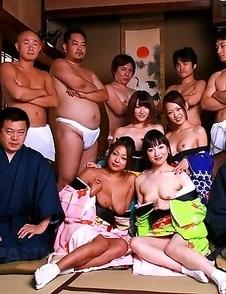 Asian sluts want some group sex