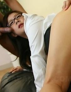 Shino Nakamura gets anal rammed