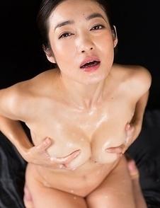 Ryu Enami Cum Filled Mouth Group Blowjob