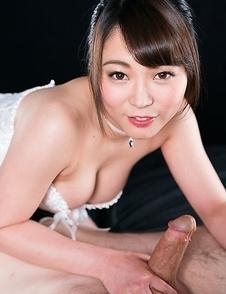 Yui Kawagoe Uses A Group of Guys' Cum For One Messy Handjob