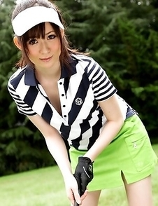 Michiru Tsukino is a hot golf babe