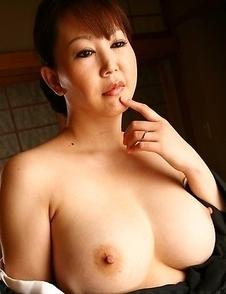 Older hottie Waka Kano stripped