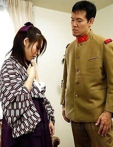Himeki Kaede wants a big meat pole