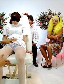 Tied up Rino Asuka gets stimulated