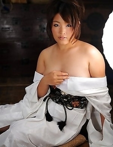 Amazing kimono lady Nene Nagasawa