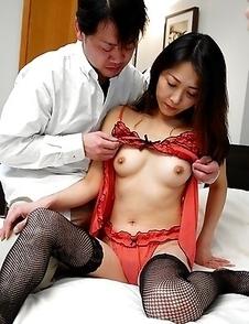 Hot Noriko Sudo enjoys in hard sex