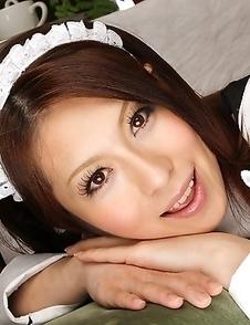 Sweet Asian darling Himeki Kaede