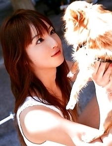 Nozomi Sasaki sexy and cute loves animals and holydays