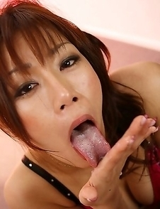 Mika Mizuno hottest blowjob ever