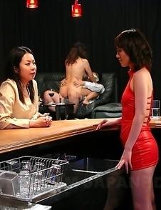 Slutty girl Nanako Misaki gets used