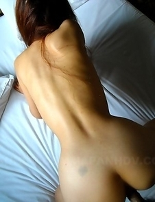 Slim redhead babe gets nailed hard