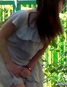 Japanese Piss Fetish Videos - Girls Pissing - Three May Pee, But Only One Has Cum
