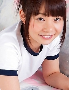 Mana doll in sports outfit is naughty and shows hot behind