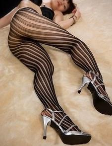 Pantyhose-wearing slut Mizuki posing on all fours and teasing with that big ass